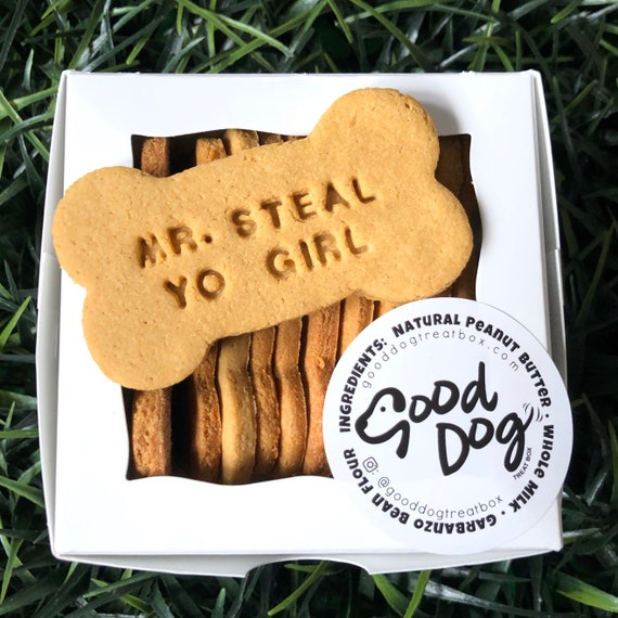 Mr. Steal Yo Girl Grain Free Peanut Butter Dog Treats