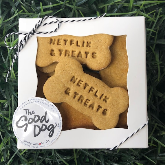 Netflix & Treats Grain Free Peanut Butter Dog Treats