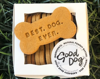 Best. Dog. Ever. Grain Free Peanut Butter Dog Treats