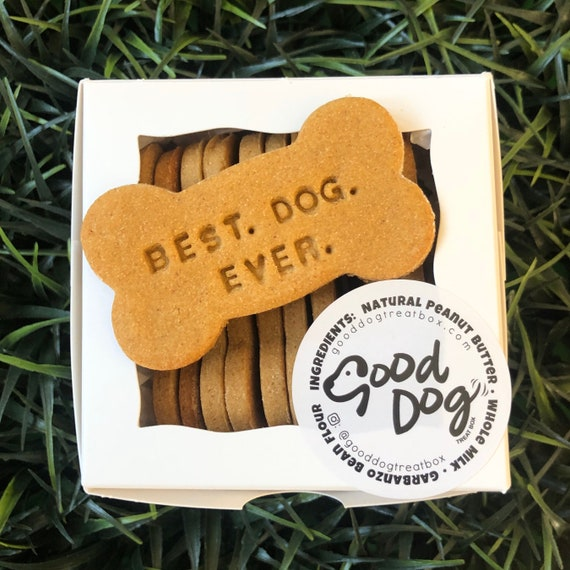 Best. Dog. Ever. Grain Free Peanut Butter Dog Treats