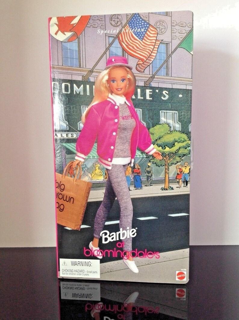 #7139 NRFB Mattel Barbie at Bloomingdales Barbie Doll | eBay