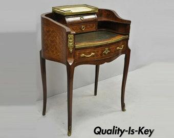 Antique Secretary Desk Etsy >> Petite Desk Etsy