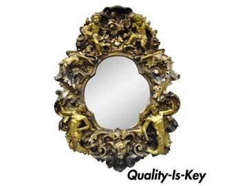 b7855439a8e Finesse Originals Fantasy Gothic Angel Cherub Zodiac Brutalist Style Wall  Mirror