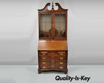 Fine Antique Secretary Desk Etsy Home Interior And Landscaping Mentranervesignezvosmurscom