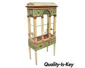 Italian Neoclassical Birdcage Style Vitrine Display Curio Cabinet by Eric Lansdown