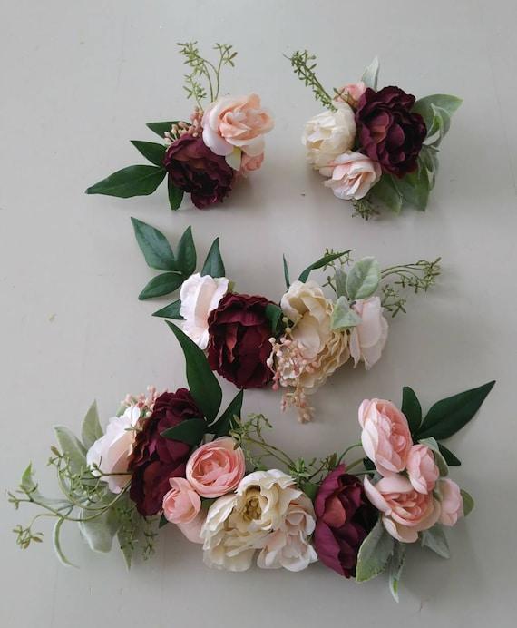 Wedding Cake Flowers Cake Topper Boho Wedding Wedding Etsy