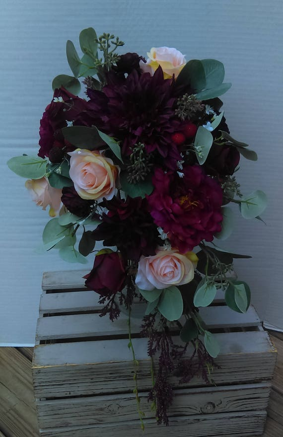 Bridal bouquets wedding bouquet wedding flowers artificial etsy image 0 mightylinksfo