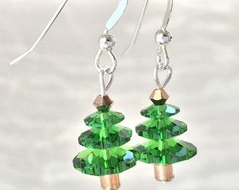 Christmas Trees - Green Crystal Tree