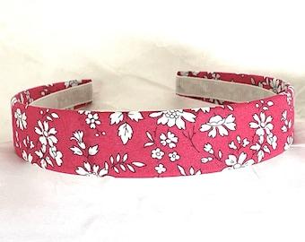 Liberty of London - Liberty Capel Floral - Liberty Tana Lawn® - Salmon Pink Coral
