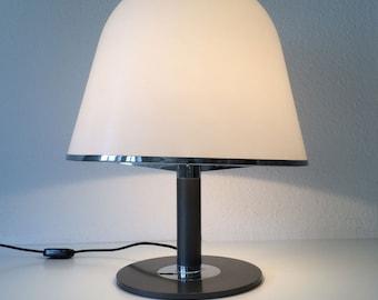 Rare & Huge Mid Century Modern IGUZZINI TABLE LAMP Light | Harvey Guzzini | 1970s