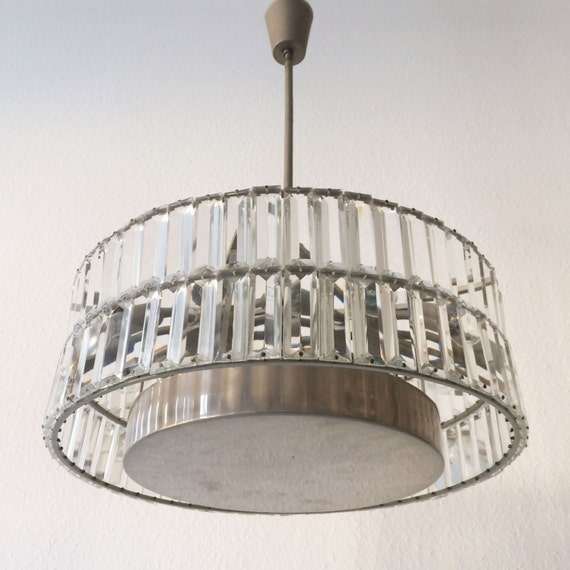 Gorgeous And Large Mid Century Modern Chandelier Pendant Lamp Rupert Nikoll Or Bakalowits Sons 1960er Jahre
