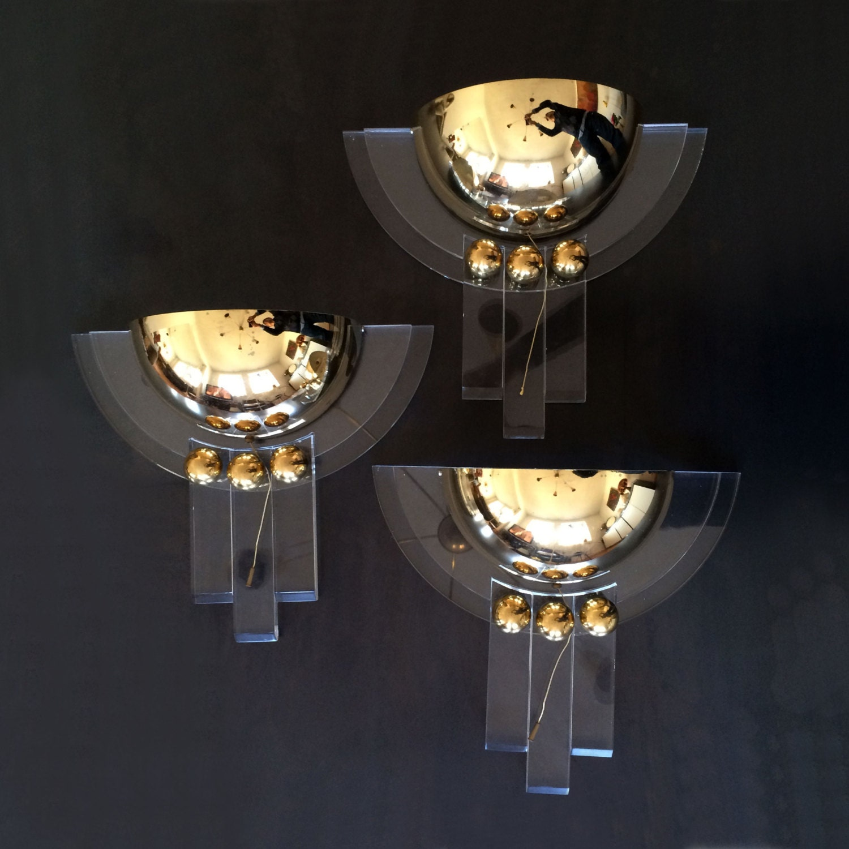 1 Su 3 Lampade Da Parete Elegante Stile