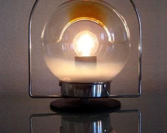 Rare Mid Century Modern Mazzega Carlo Nason Murano Table Lamp Light Vistosi Era