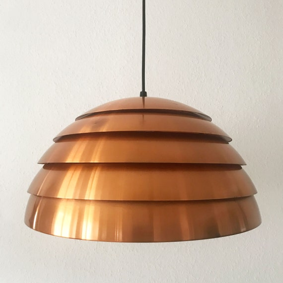 Large Gorgeous Mid Century Modern Beehive Pendant Lamp Hanging Light By Hans Agne Jakobsson 1960s 45 Cm