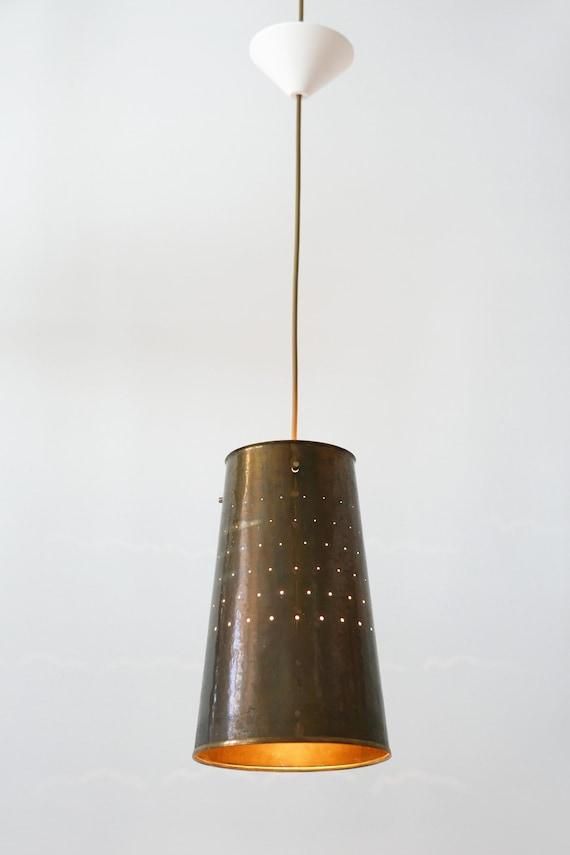 Amazing Mid Century Modern Pendant Lamp Hanging Light 1950s Germany