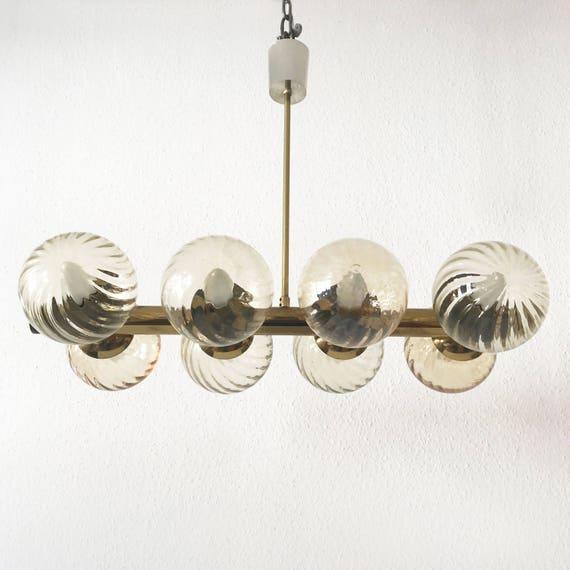 Rare 32 Globe Stilnovo Chandelier | | Stilnovo