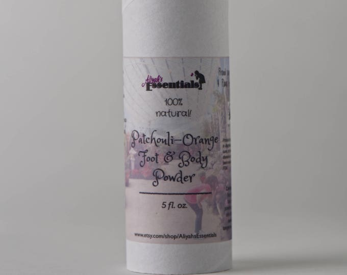 All Natural Foot & Body Powder