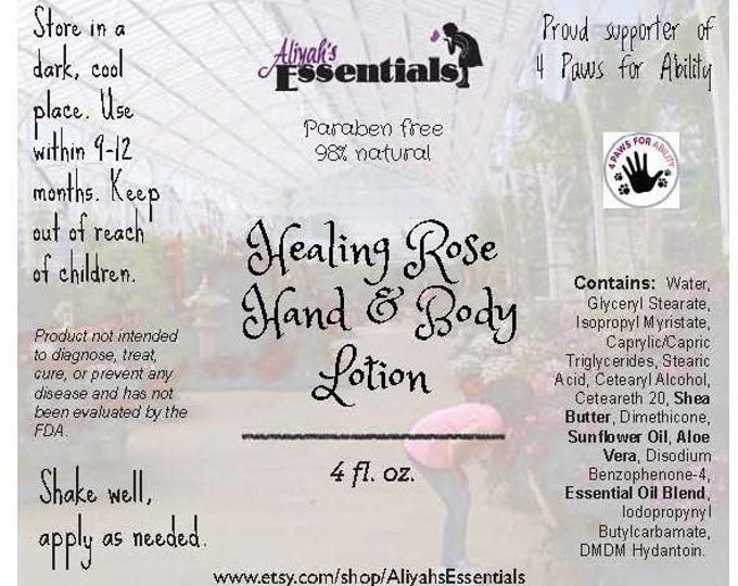 Healing Rose Hand & Face Lotion