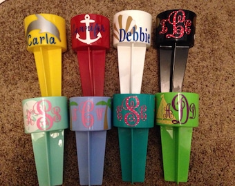 Beach Spikers, sand spiker, Personalized Sand Spikers, drink holder, cup holder, gifts for teens, Spring break, Summer, monogrammed spiker