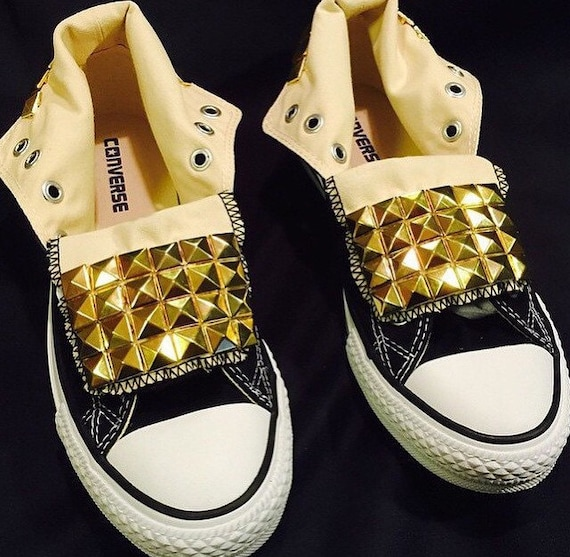 Studded Converse Shoes | Etsy
