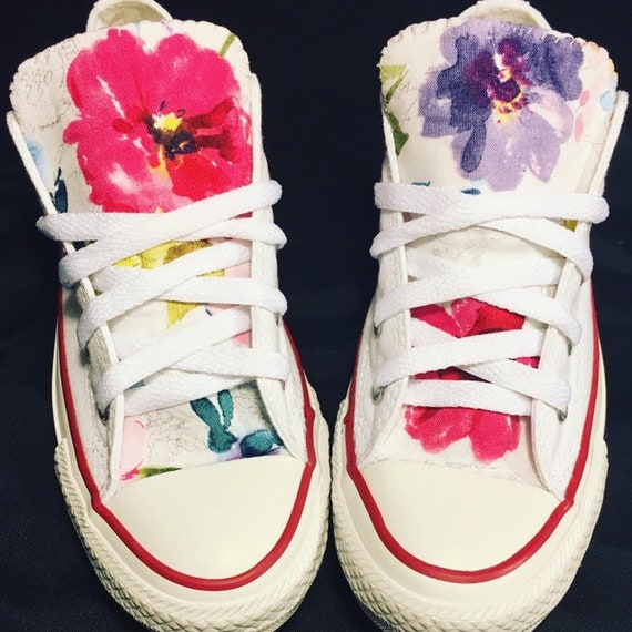 9445bf8f61219d Floral Converse Chuck Taylor Shoes