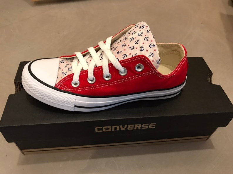 d4f11ee67a86 Anchor Converse Chuck Taylor Shoes Trainers