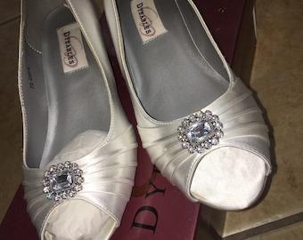 Dyeable wedding shoe | Etsy