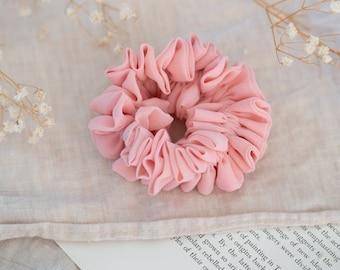Hair Accessory Splodge Design on textured 100 /% Cotton Bracelet Sashiko Indigo Japanese Fabric Scrunchie