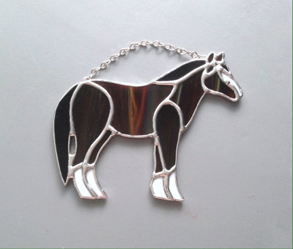 Birthday Gift// Present Tibetan Silver Bookmark HORSE /& Brown Beads PONY.