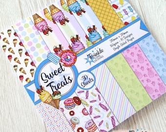 Sweet Treats Paper Pack, 210x210mm