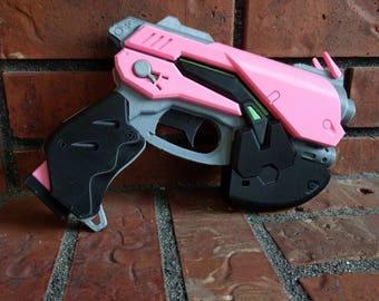 D.va inspired 3D printed cosplay gun