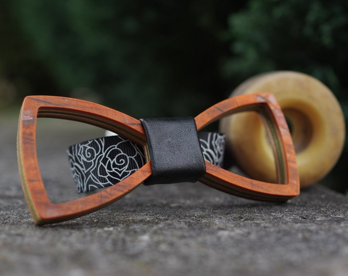 Bow tie recycled from orange #skateboard