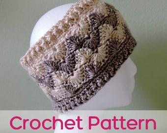 Chevron Ear Warmer - Crochet Pattern