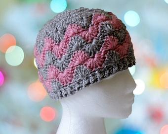 10ce48c70ae Crochet Hat - Fleece Lined Option
