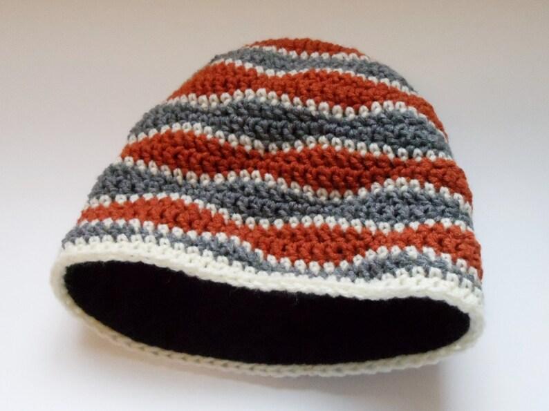 c2d4a01f19a Crochet Hat Fleece Lined