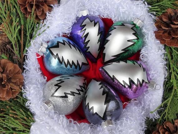 Grateful Dead Christmas Ornament.Grateful Dead 13 Bolt Ornament Deadhead Customizable Stealie Ornamenthippie Ornament Hippie Christmas Grateful Dead Christmas Grateful Dead