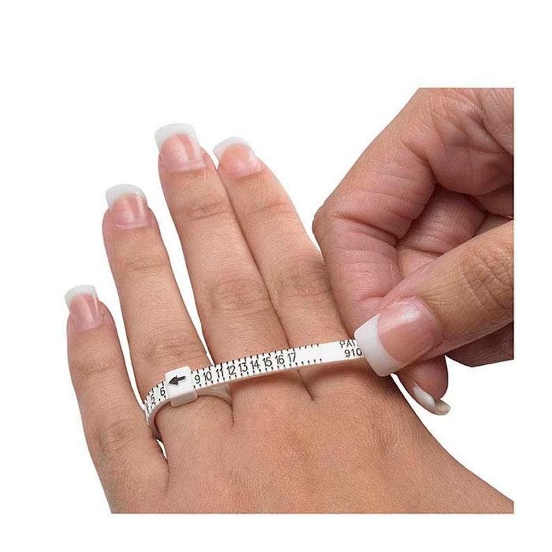 Ring Sizer Find Your Ring Size Adjustable ring finger gauge Ring Sizing