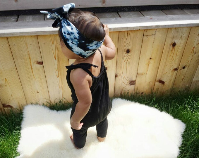 Featured listing image: PLAIN JANE ROMPER - black