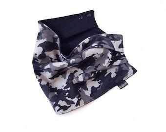 Baby Scarf-bib / Toddler Scarf / Baby Scarf / Camo Print / Reversible / Scarf-Bib / Scarves / Fashion Bibs / MiBaby Boutique