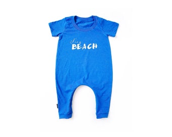 LIFE'S A BEACH - blue