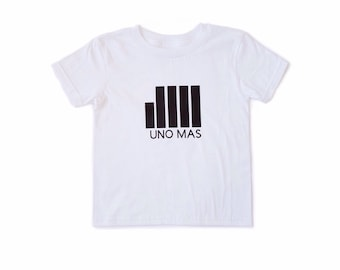 MiBaby Urban T-Shirts - UNA MAS - White