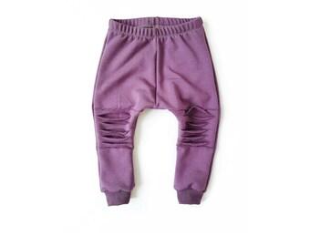 Distressed Harem Sweatpants | PLUM