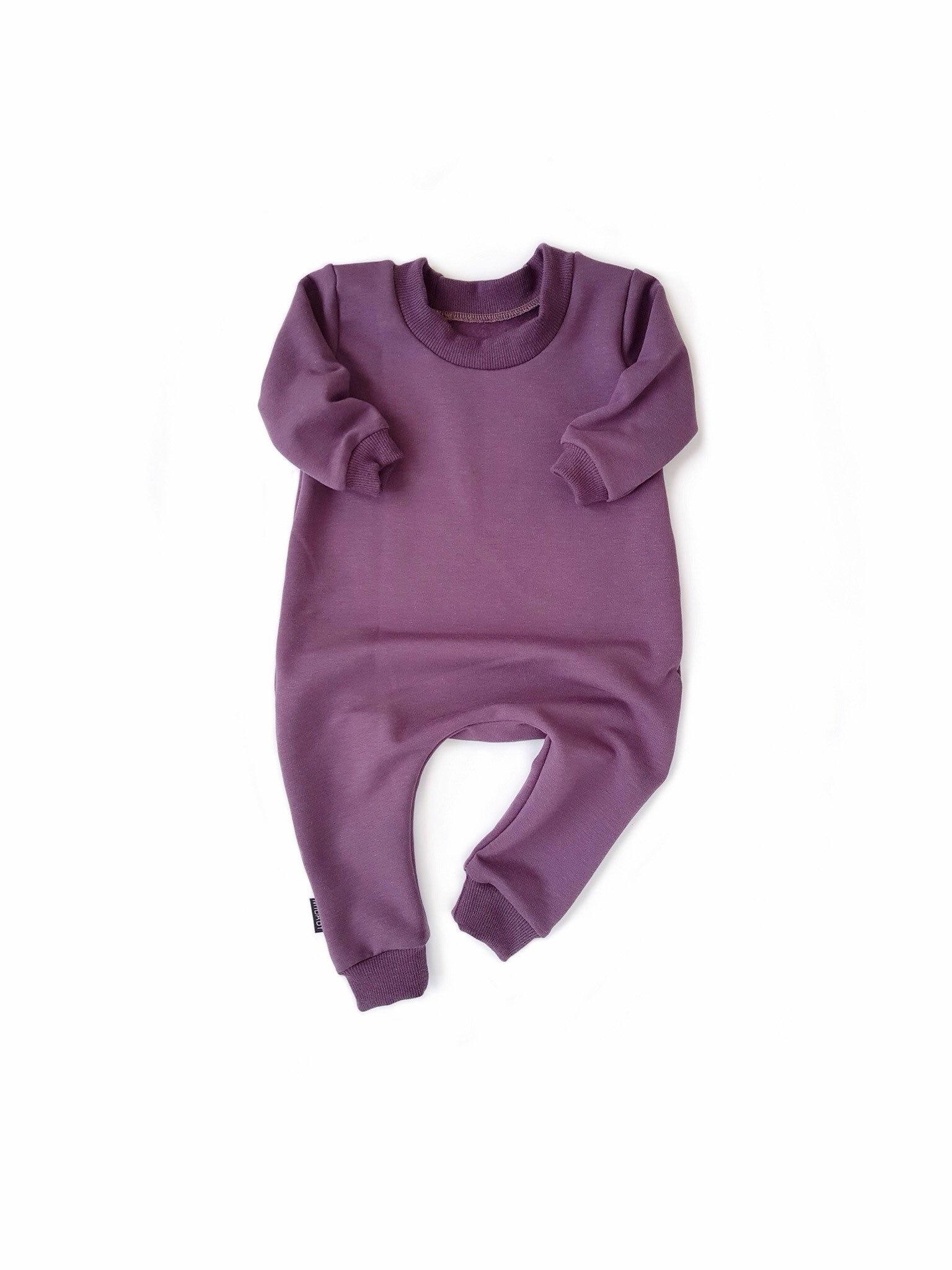 a75e4ab5d4d7 PLUM Sweatshirt Baby Romper   Toddler Romper One Piece Zipper ...