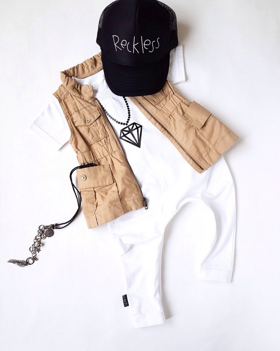 Hip Hop Kid Baby Romper   Toddler Romper   Organic Cotton  4613306dd12