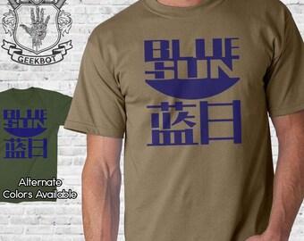 Blue Sun T-Shirt - Premium Shirt Options - Screen Printed XS-5XL