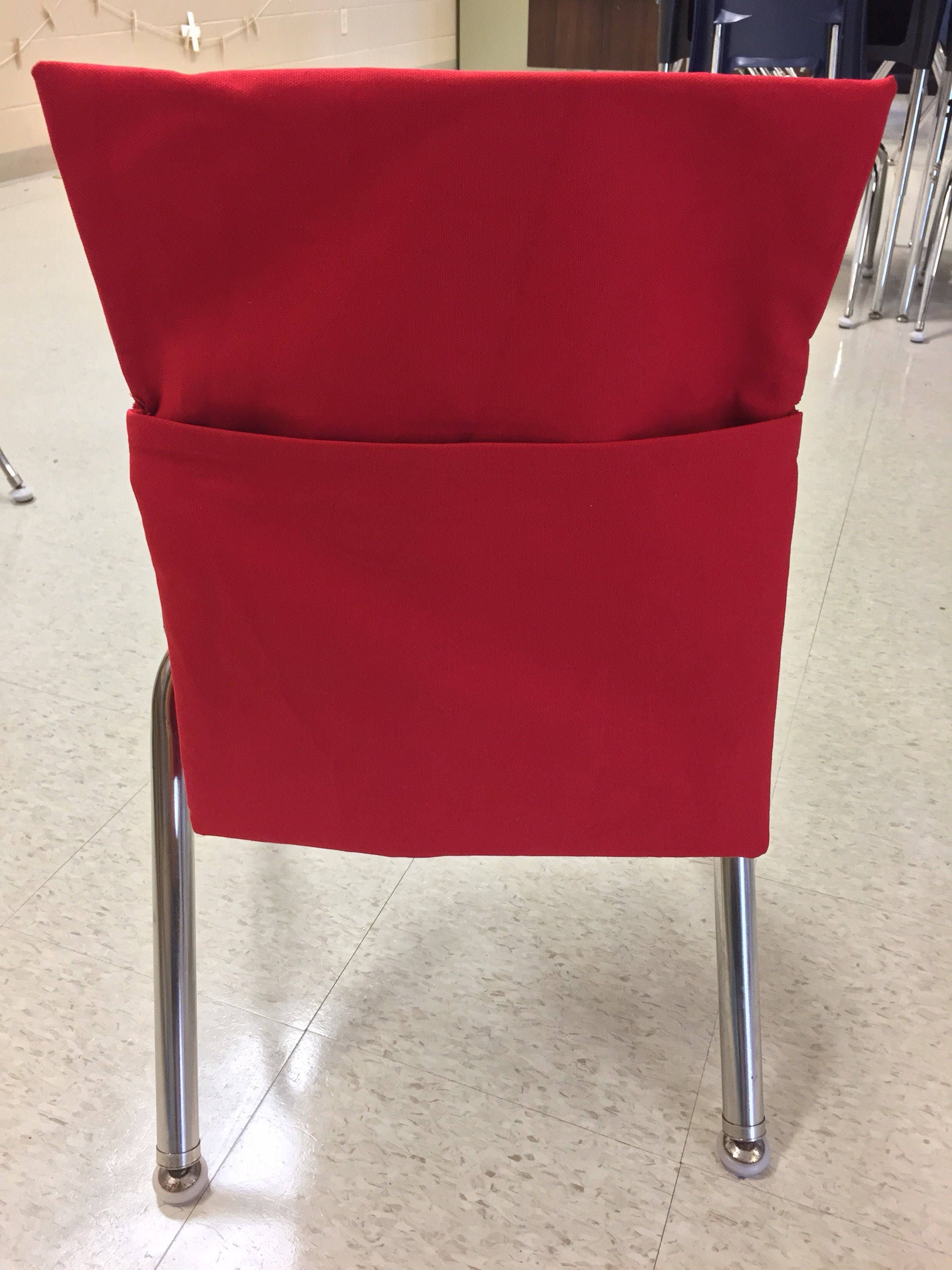 Sewing Pattern DIY Chair Pockets for Classroom or ...