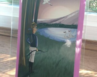 BLANK Greeting Card // Swan Lake - Prince Siegfried