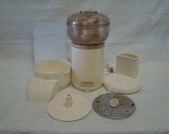 Sunbeam Oskar Food Processor~Made in France~1985