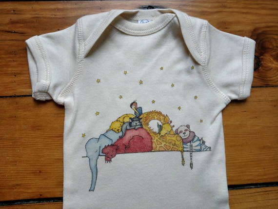 Cuddle Puddle Cotton Onesie, Jungle Themed Baby Gift, Cute Infant Bodysuit, Long and Short Sleeve Options, FREE GIFTWRAP