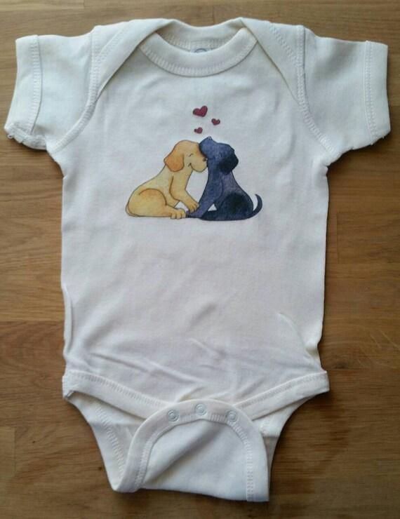 Loveable Lab Infant Cotton Onesie